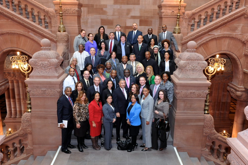 LI Community Leaders in Albany