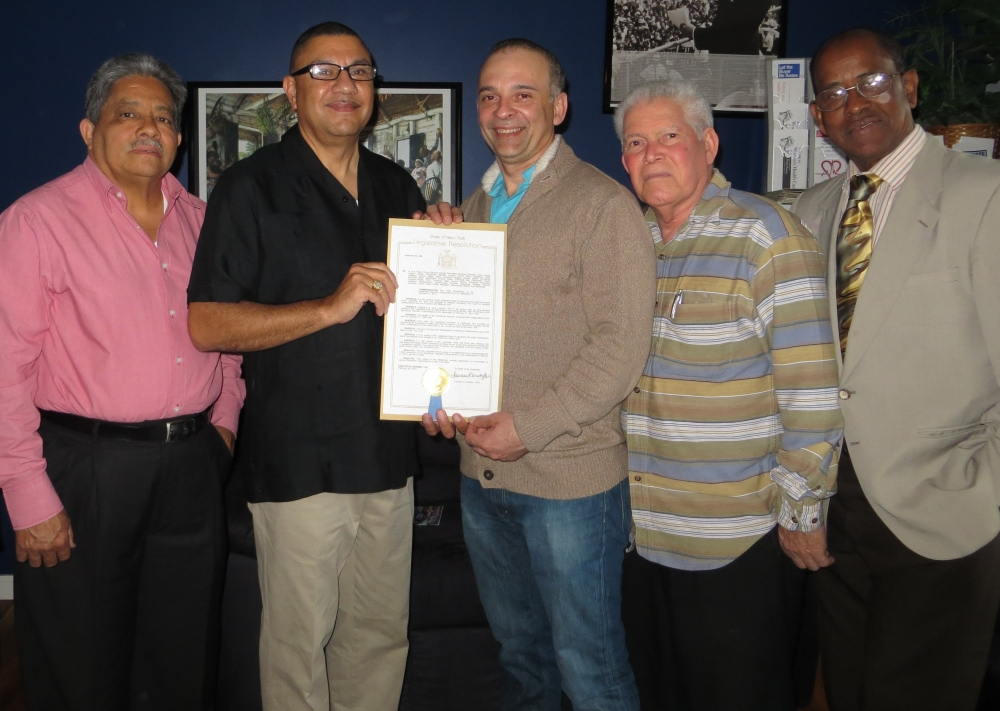 The Assembly recently passed a resolution to honor the 170th anniversary of the Dominican Republic Independence Day.