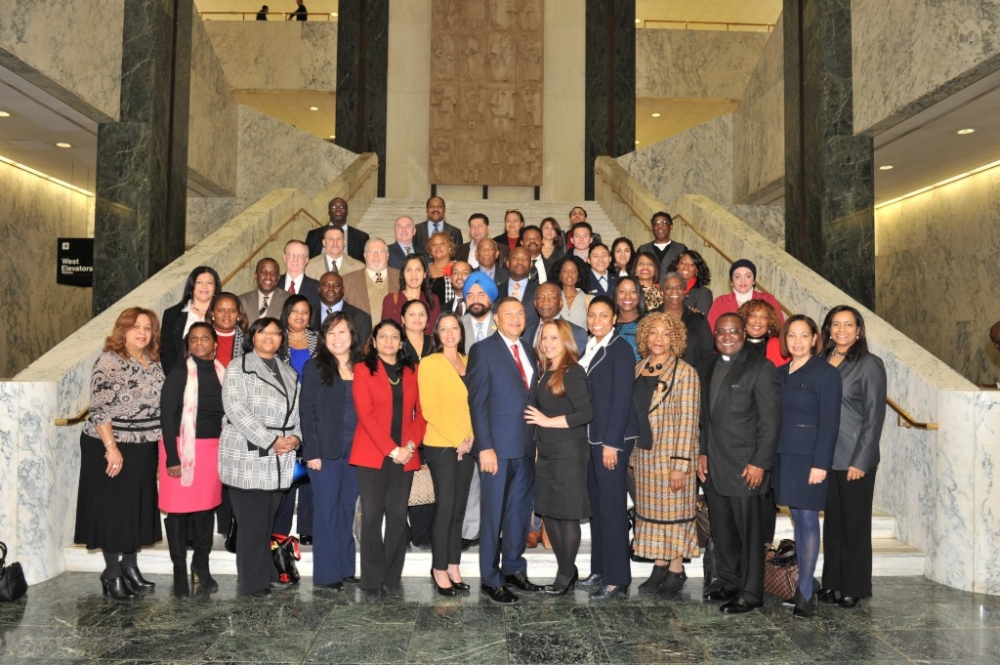Assemblyman Ramos invites prominent community leaders from Brentwood, Central Islip and Bay Shore to be his guests on the first day of the 2015 legislative session.
