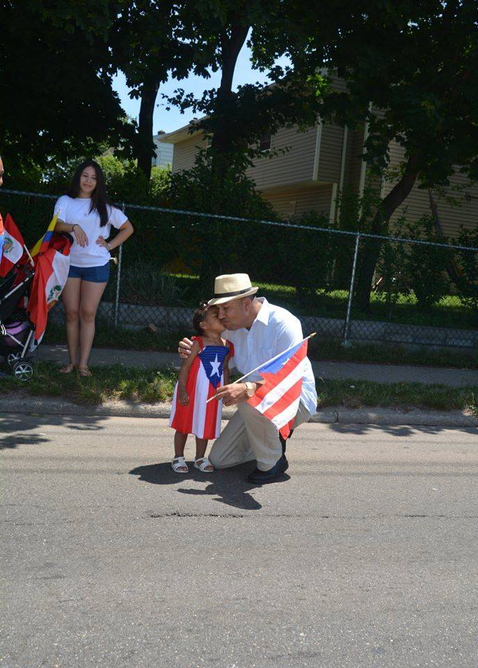 Assemblyman Ramos at the 2015 Long Island Puerto Rican/Hispanic Day Parade in Brentwood.