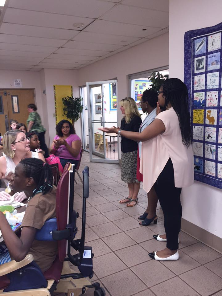 Assemblywoman KJP learns Sign Language at the Clearly School for the Deaf