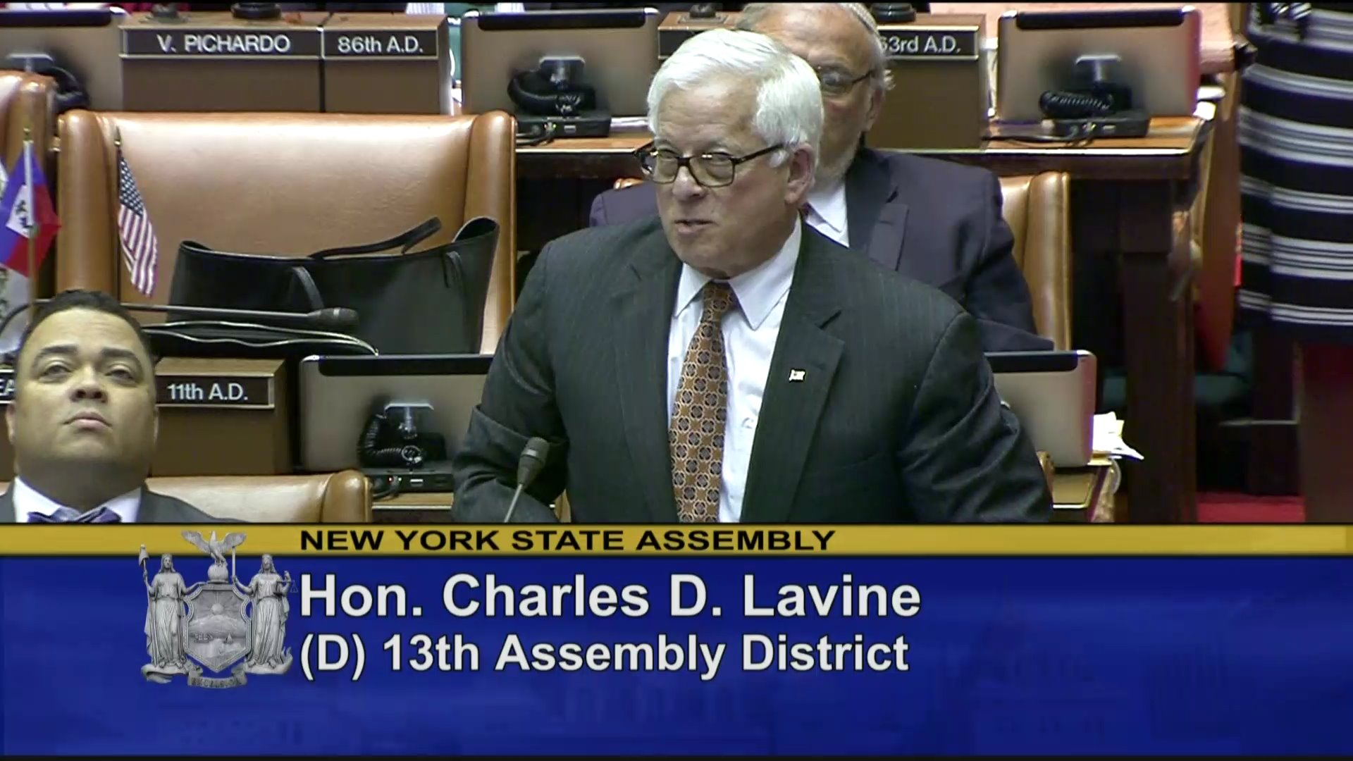 Lavine Speaks about Environmental Protection in New York State