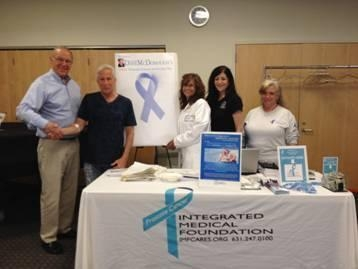 Assemblyman Dave McDonough (left) joins Neil Wyman, Rhonda Samuels, and staff of Integrated Medical Foundation as part of his Prostate Cancer Screening Day.