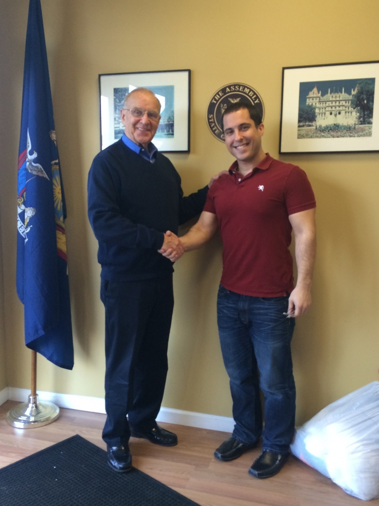 I met with Frank Lombardo, a student at NYIT, who is completing his Master�s Degree in Occupational Therapy. We discussed the role of Occupational Therapists in drug and alcohol abuse treatments.