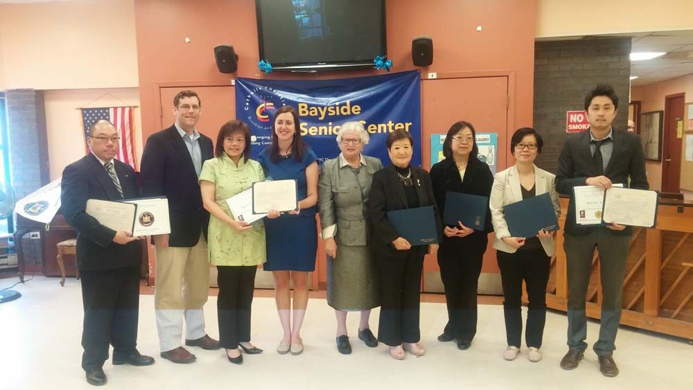 On May 14, 2015, Assemblyman Braunstein co-sponsored Assemblywoman Nily Rozic�s Asian American & Pacific Islander Heritage Celebration with Senator Toby Ann Stavisky. Assemblyman Braunstein is picture