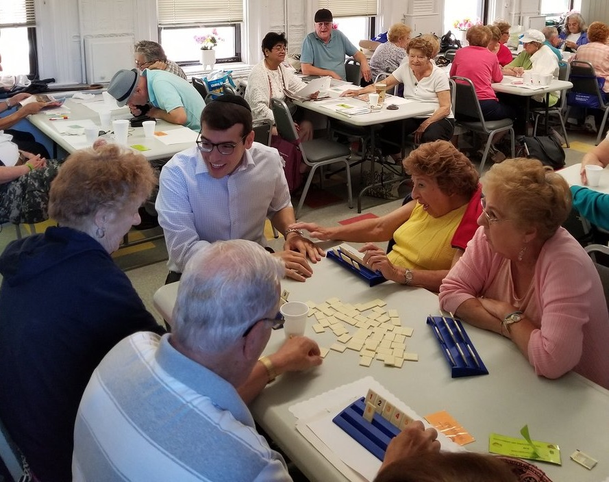 Assemblymember Daniel Rosenthal had the pleasure of visiting the HANAC Senior Center in College Point.