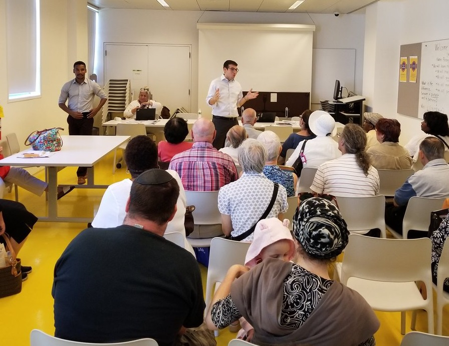 Assemblymember Daniel Rosenthal partnered up with the Department of Finance for another great Property Tax workshop at the Kew Gardens Hills Library.