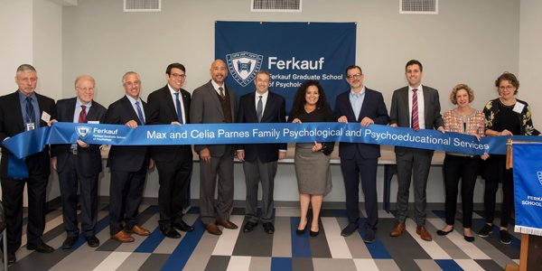 Assemblymember Rosenthal joins other supporters for the grand opening of Yeshiva University's Parnes Mental Health Clinic that will address mental health issues within our under-served communitie