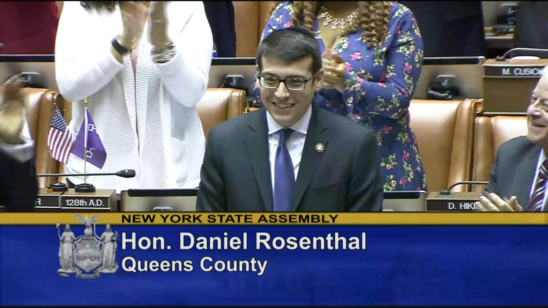 Introduction of Assemblymember Daniel Rosenthal