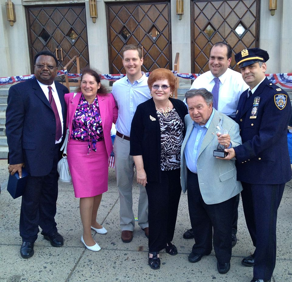 August 7, 2013 - Assemblyman Hevesi attends the 112th NYPD Precinct National Night Out Against Crime.