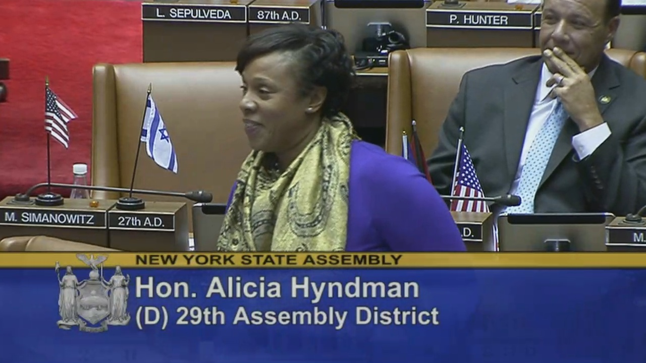 Welcome Assembly Member Hyndman