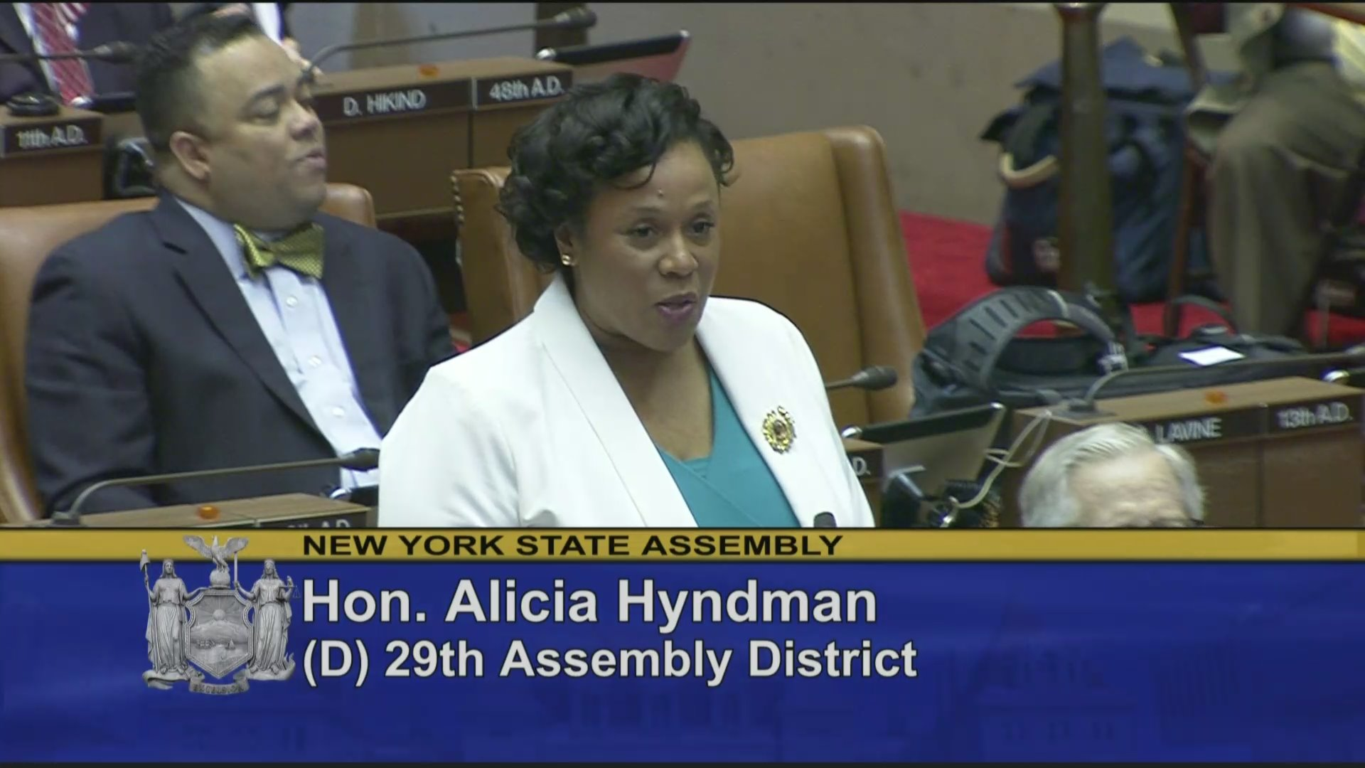 Assemblywoman Hyndman Welcomes Rev. Gilbert Pickett Sr. to the Assembly