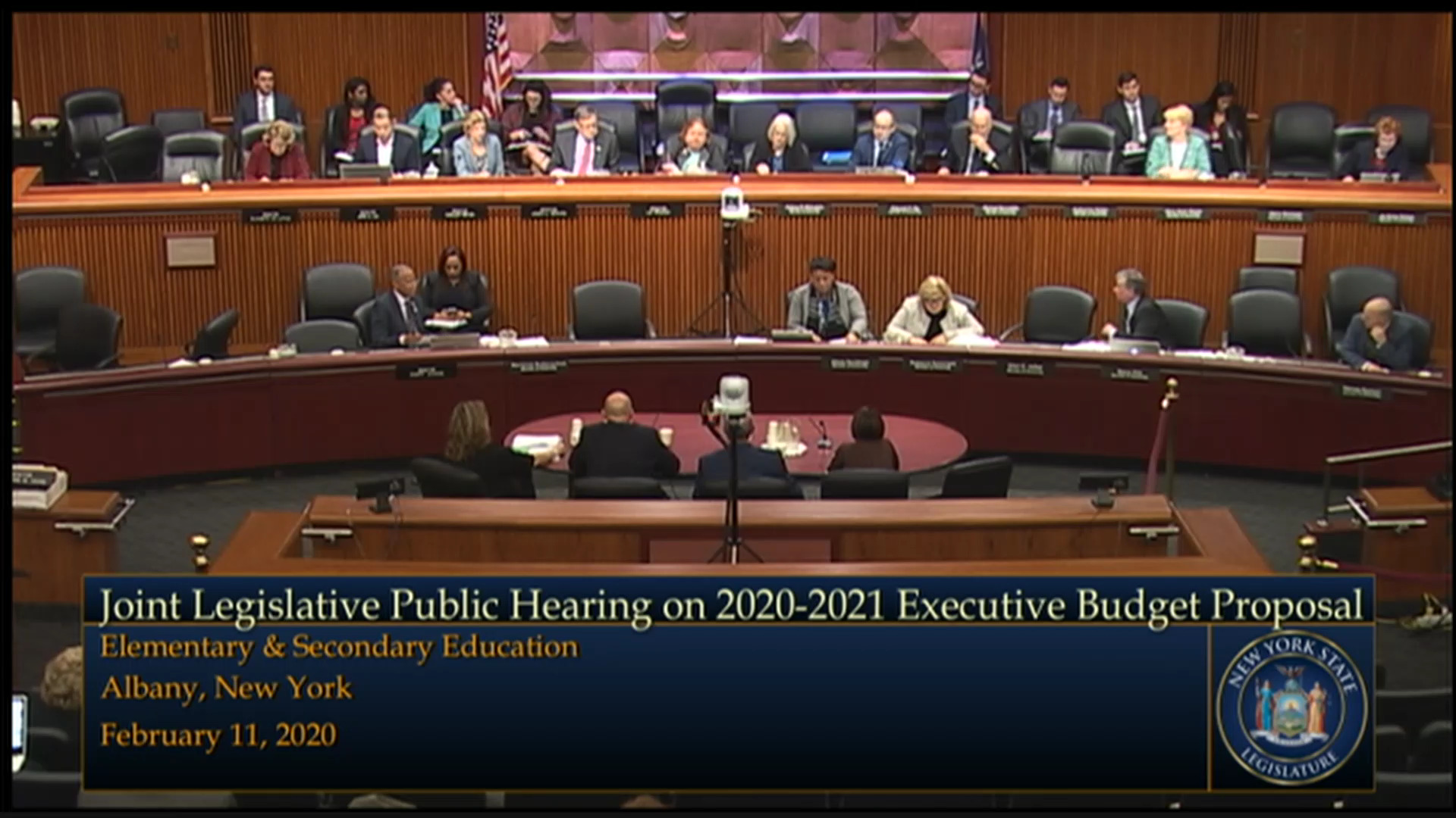2020 Joint Budget Hearing on Elementary and Secondary Education