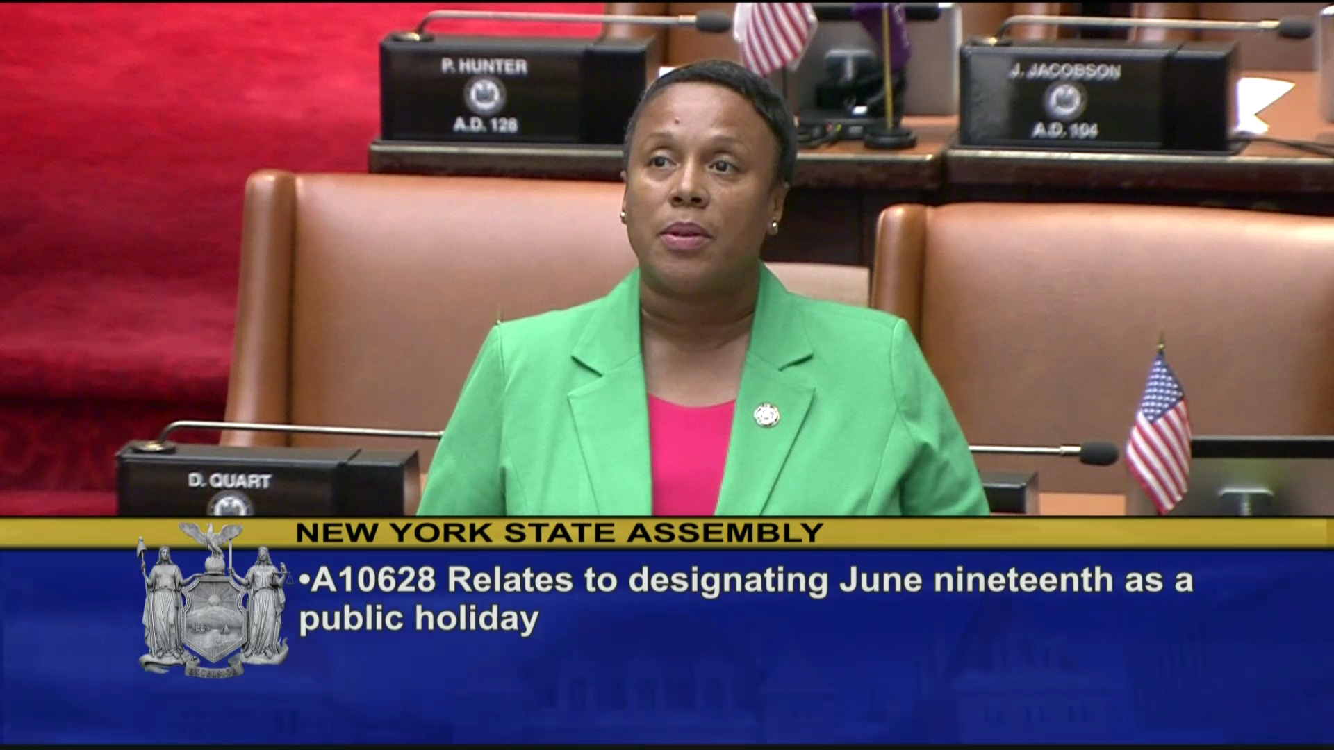 Designating Juneteenth a Public Holiday