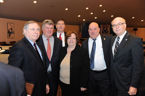 Assemblywoman Catherine Nolan at the Public Employees Federation Conference