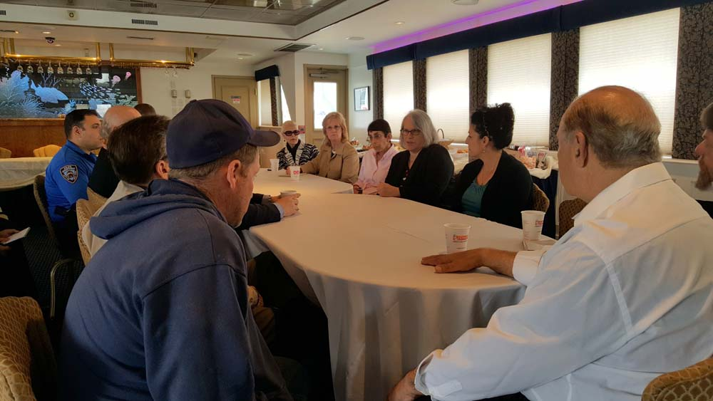 Sheepshead Bay boat owners met with local elected officials and representatives from the Parks Department and NYPD to review procedures to ensure their boating events don�t affect the quality of life for local residents during the summer tourist season.