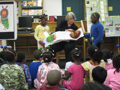 Assemblywoman Weinstein participated in this year�s �National Read Aloud� at Paerdegat library. This year�s event, which promotes literacy, celebrated the 40th Anniversary of �The Very Hungry Caterpillar� the captivating classic by Eric Carle.