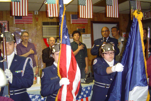Assemblyman Colton hosts an event with other local leaders to honor veterans.