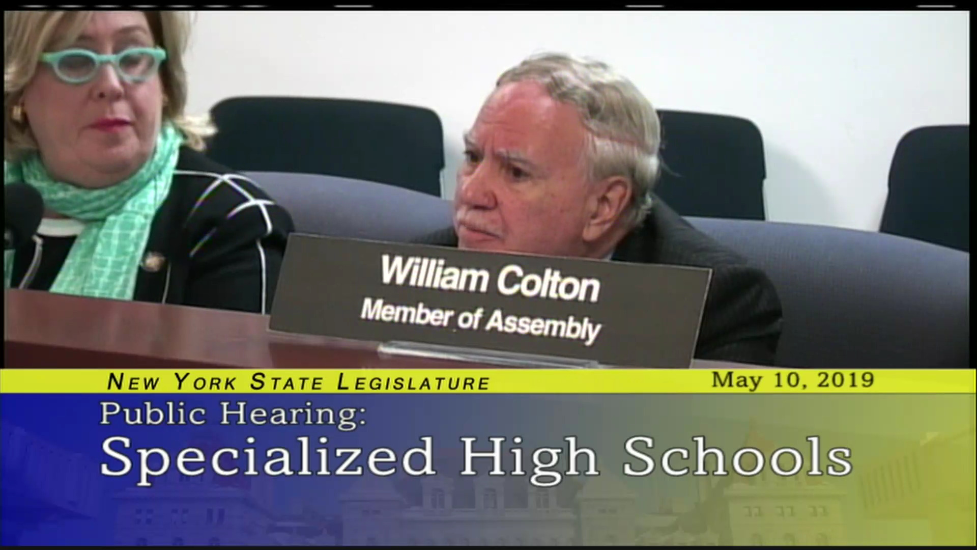 Assemblymember Colton Discusses Cut Backs In Schools