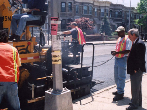 Assemblyman Abbate has worked with the NYC Department of Transportation to have many of our streets repaved.