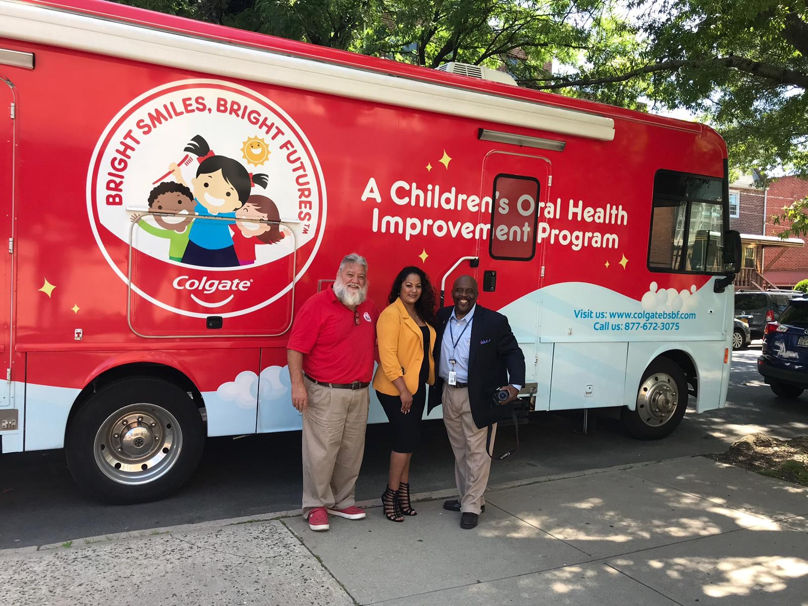 Colgate Bright Smiles, Bright Futures in conjunction with Assembly member Jaime Williams showcase local children the importance of good oral health habits.