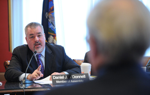 Assembly Member O�Donnell questions Department of Environmental Conservation Commissioner Pete Grannis on the risks to New York City�s watershed if drilling for natural gas is allowed in the Marcellus Shale formation.