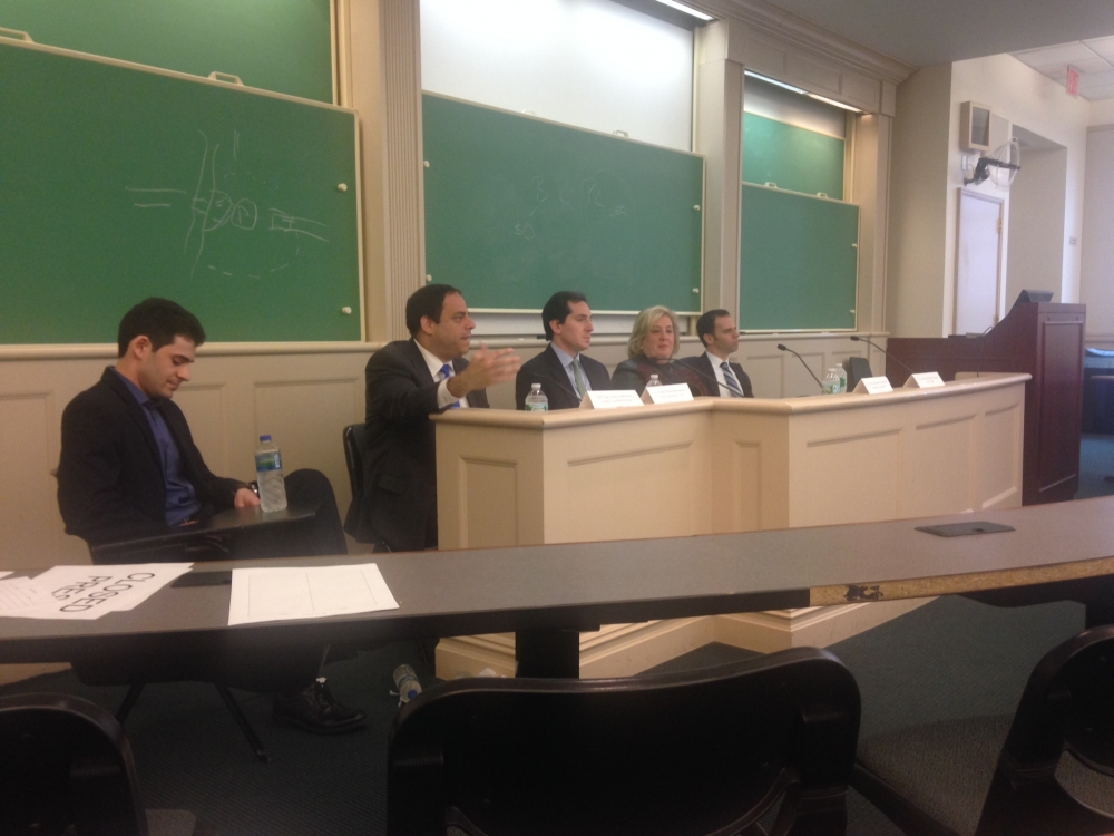 April 10—New York University-- Assembly Member Seawright speaks to NYU Law students about the paths into public service.