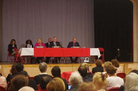 Senior Consumer Fraud Public Hearing, October 21, 2015 --- Lenox Hill Neighborhood House, Upper East Side --- Assembly Member Rebecca A. Seawright, Chair of the Subcommittee on Consumer Affairs and Protection, Assembly Member Jeffrey Dinowitz, Chair of the Committee on Consumer Affairs and Assembly Member Steven Cymbrowitz, Chair of the Committee on Aging.
