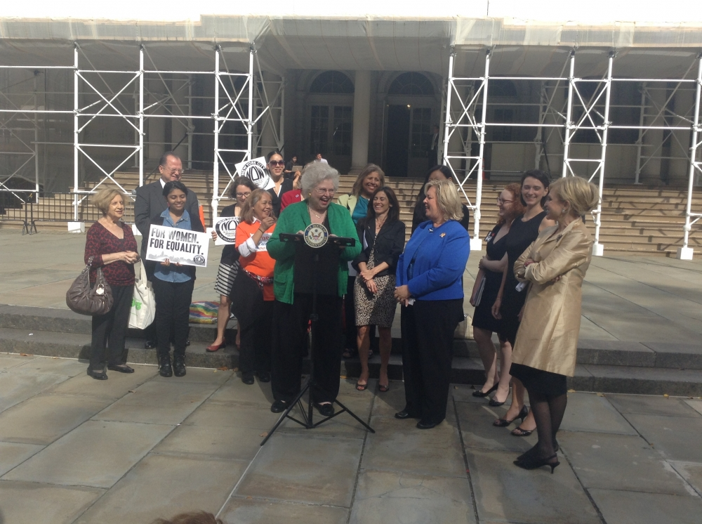 Forty three years ago today, Assembly Member Seawright's mentor Sarah Weddington won a woman's right to choose. Today, we still fight for codification in NYS.
