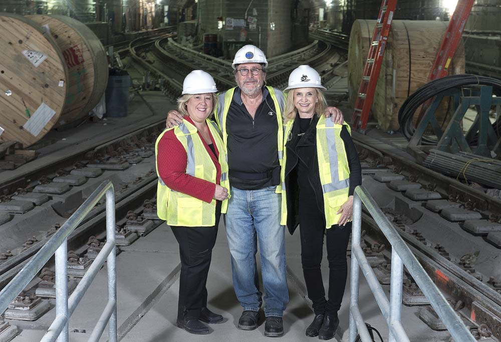 Assembly Member Seawright and Congresswoman Carolyn Maloney tour the Second Avenue Subway construction project.<br><br>Photos (C) Metropolitan Transportation Authority / Patrick Cashin.