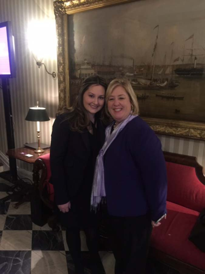 March 23, 2017 – Mentor Seawright and Mentee Gina Sokolovs Attend Women's History Month Annual Mentoring & Civic Leadership Event at Gracie Mansion.<br />