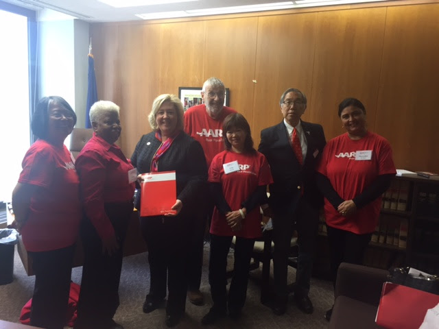 On Tuesday, May 16th, Assembly Member Seawright met with constituents and members of the AARP in Albany. They discussed financial security issues and deliberated on ways to combat elder financial exploitation, the most common form for elder abuse.<br /> <br />