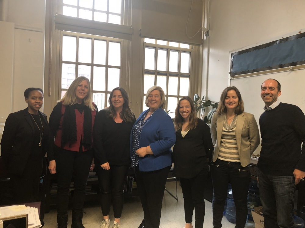 Seawright Partners with leadership team of PS 158, Yorkville Community School and New York City Department of Education<br />