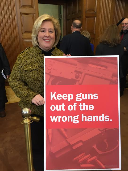Assembly Member Rebecca Seawright: When it comes to gun violence, we need more than thoughts and prayers<br />