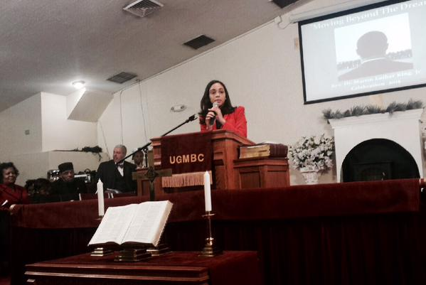 At Union Grove Missionary Baptist Church, Assembly Member Latoya Joyner honored the life and legacy of Dr. Martin Luther King, Jr.