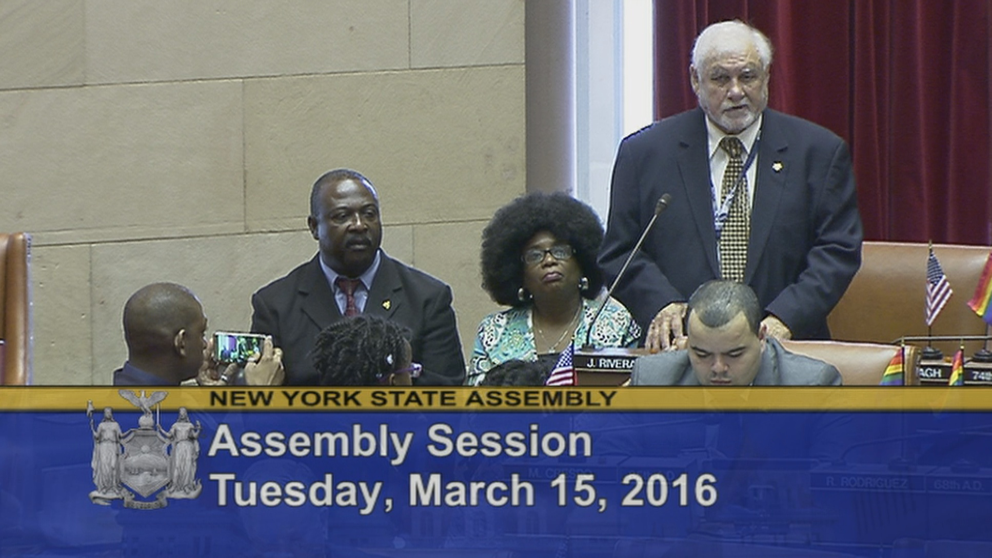 Garifuna Community Members Visit Albany