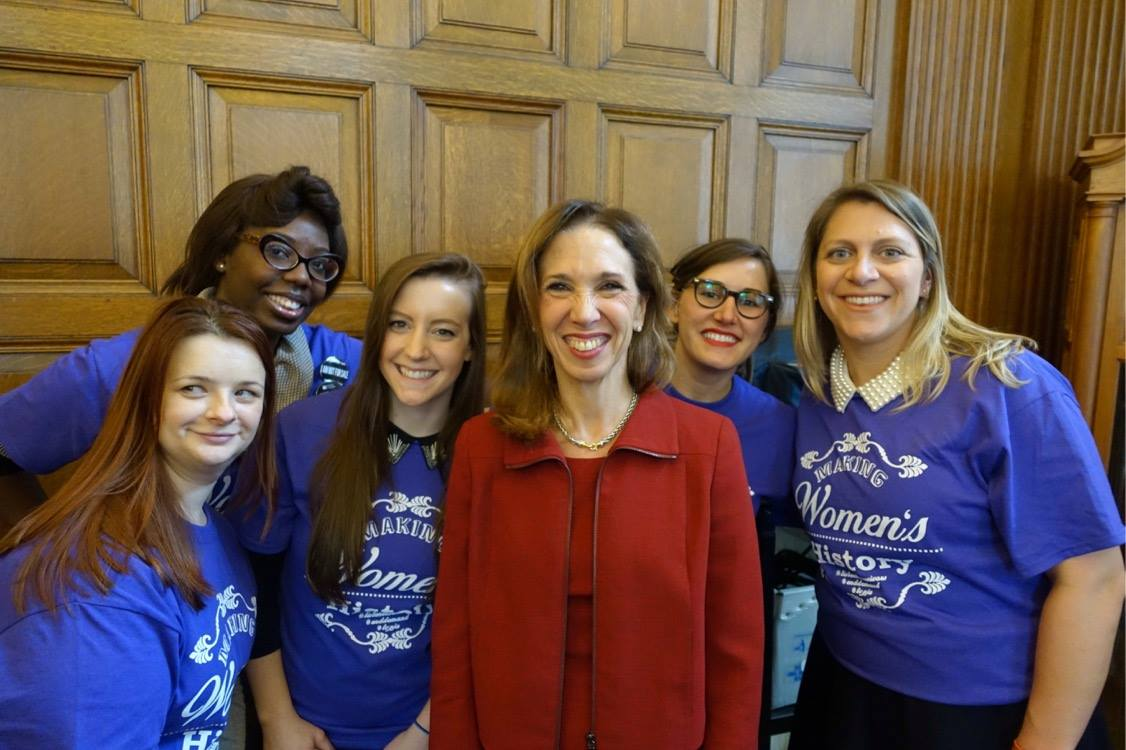 Members of the Junior League joined Amy on March 16 in Albany to support the passage of TVPJA.