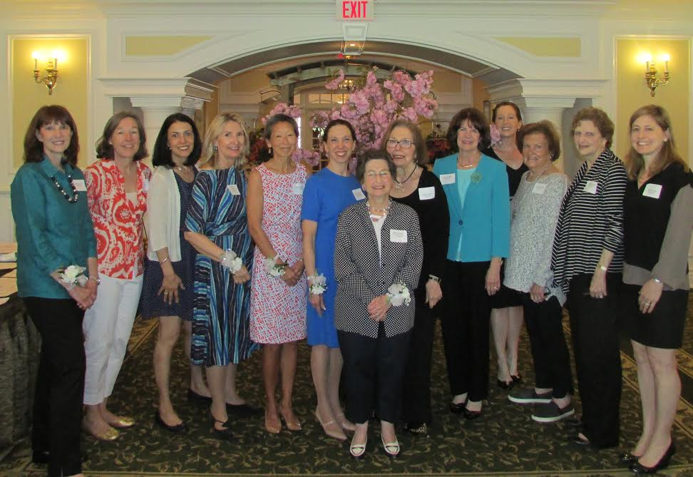 All the past presidents of the Scarsdale League of Women Voters.