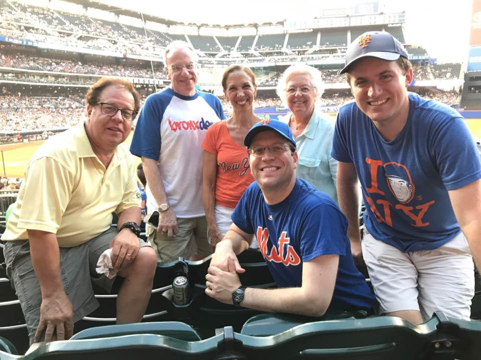 Assemblywoman Amy Paulin and several of her fellow Assembly members went to Citi Field to watch the Mets play the Cardinals.