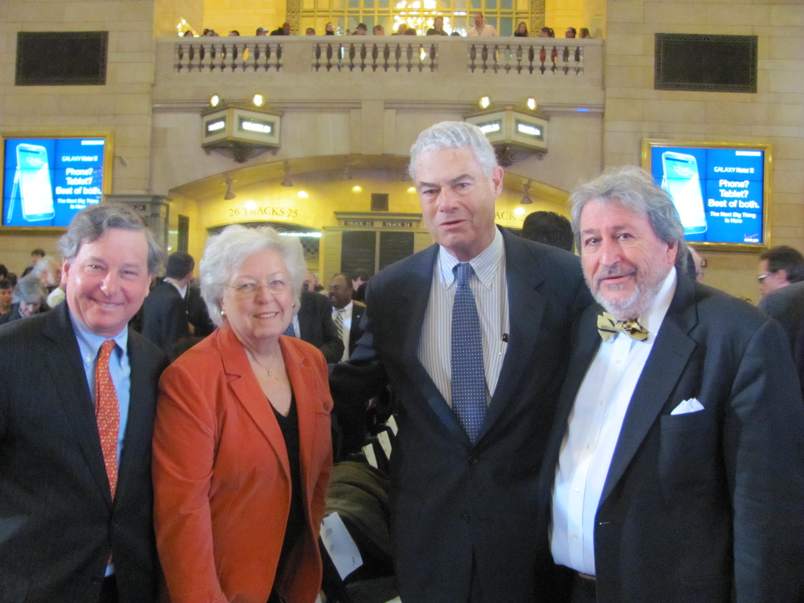 Assemblyman Otis attends the Centennial Celebration of Grand Central Terminal.