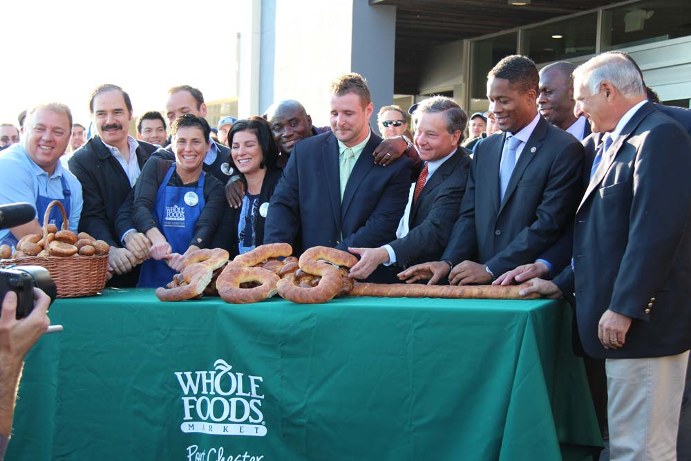 A great day for Port Chester, as Assemblyman Otis attends the grand opening of the Whole Foods store on the Boston Post Road.