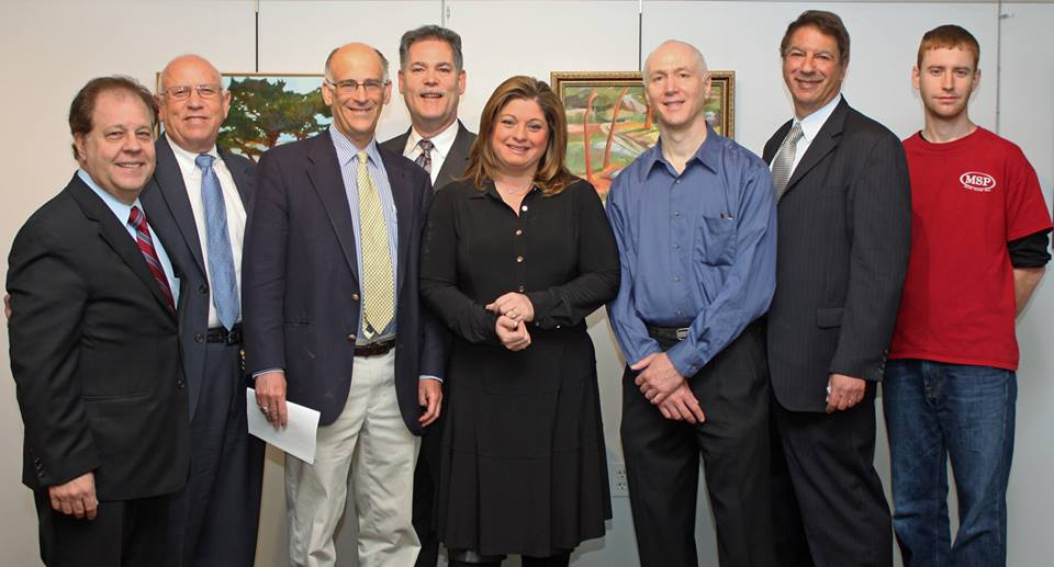 Assemblyman Abinanti spoke at the Greenburgh Public Library for the unveiling of an