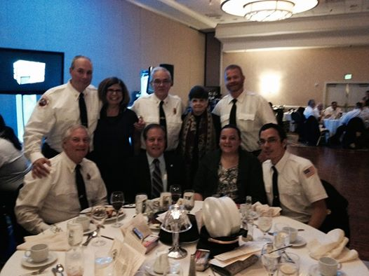 Fire Inspection Dinner: Assemblyman Abinanti attended the Tarrytown Fire Inspection Dinner.