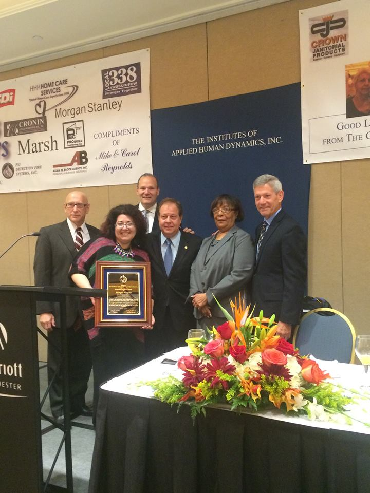 IAHD: Assemblyman Abinanti attended IAHD�s 26th Annual Richard P. Biondi Corporate Recognition Awards Breakfast.