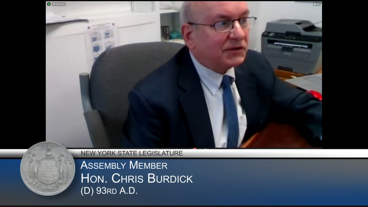 Burdick Questions State Housing Commissioner During Budget Hearing on Housing