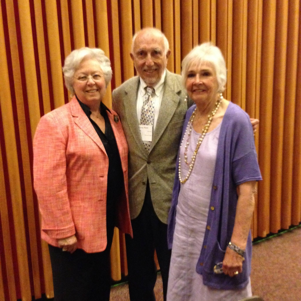 While in Albany, Sandy met with George and Kathryn Baum of Kent. George was honored for his community volunteer work by the New York Office of the Aging at its 2014 Senior Citizens Day Celebration.