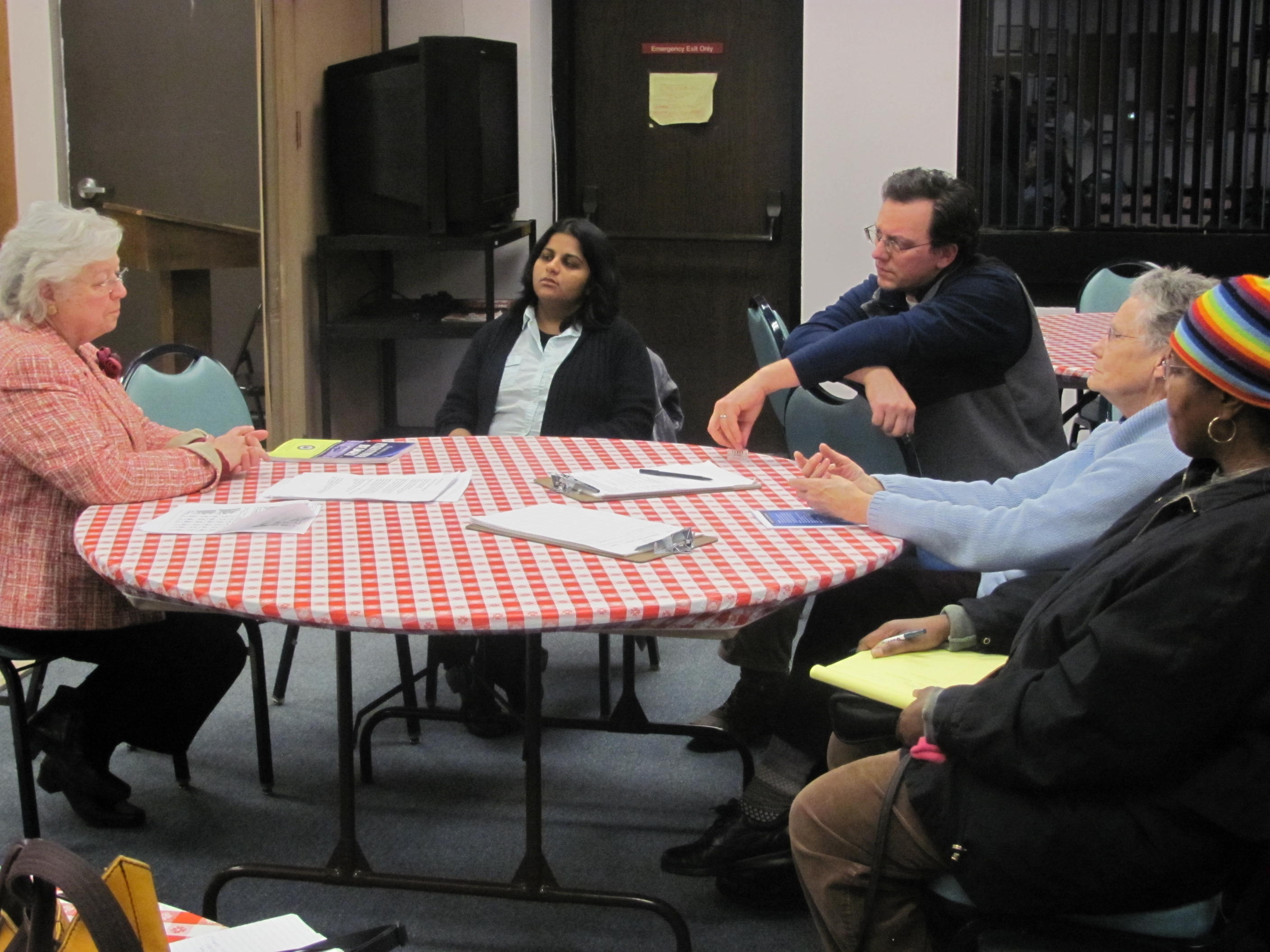 Sandy met with constituents in Peekskill to discuss areas of concern to them.