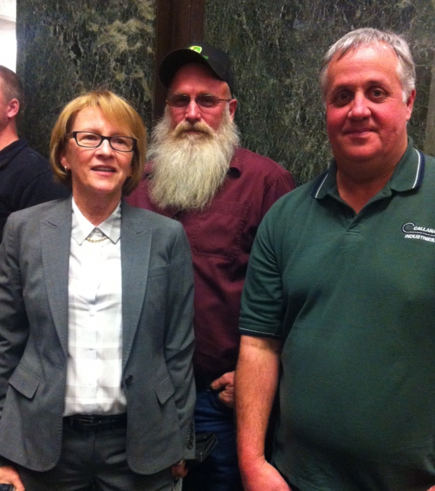 Aileen has been a strong supporter of increased funding for local roads and bridges. She was happy to be joined by Town of Forestburgh Supervisor Dan Hogue to advocate for this funding.