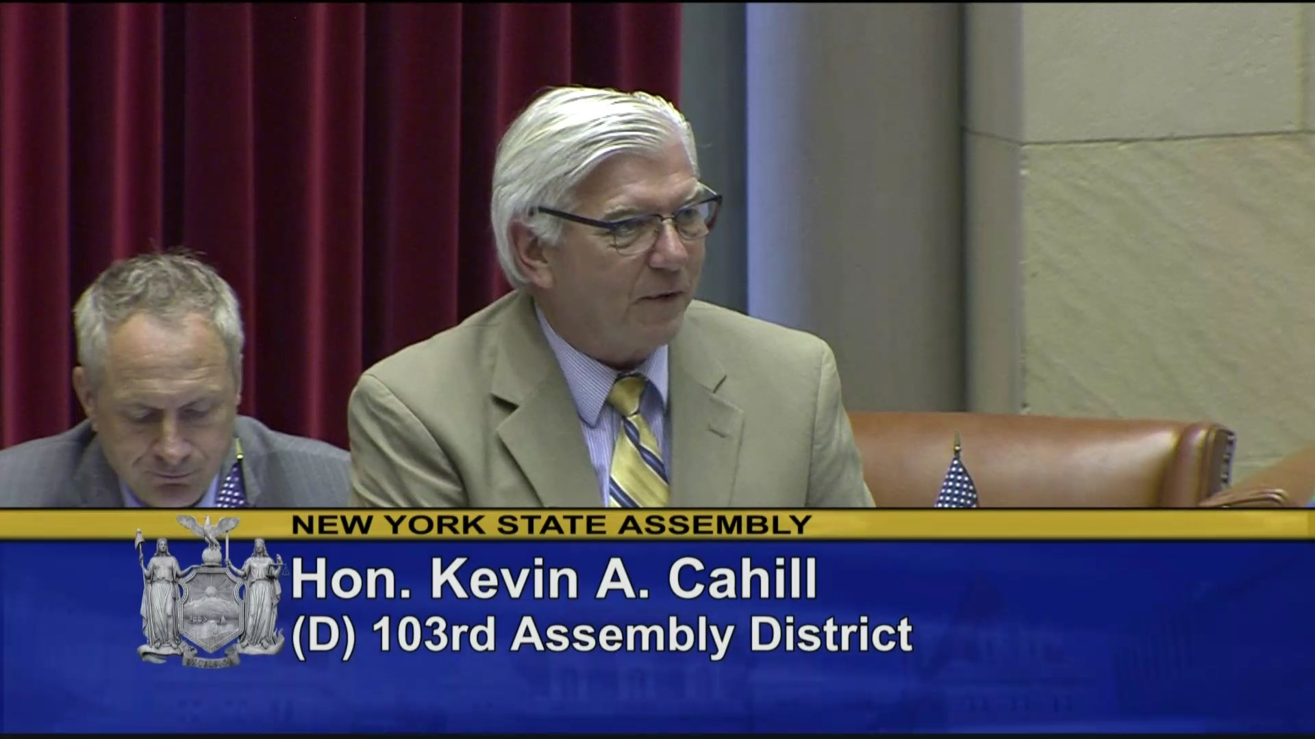 Cahill Fights for Workers' Compensation