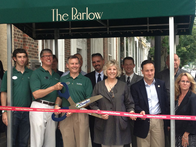 Congratulations to Duncan Calhoun and Russ Gibson on the grand opening of their stunning new boutique hotel The Barlow, in beautiful downtown Hudson!